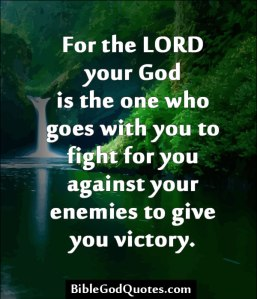 for-the-lord-your-god-is-the-one-who-goes-with-your-to-fight-for-you